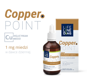Miedź COPPER POINT 50ML